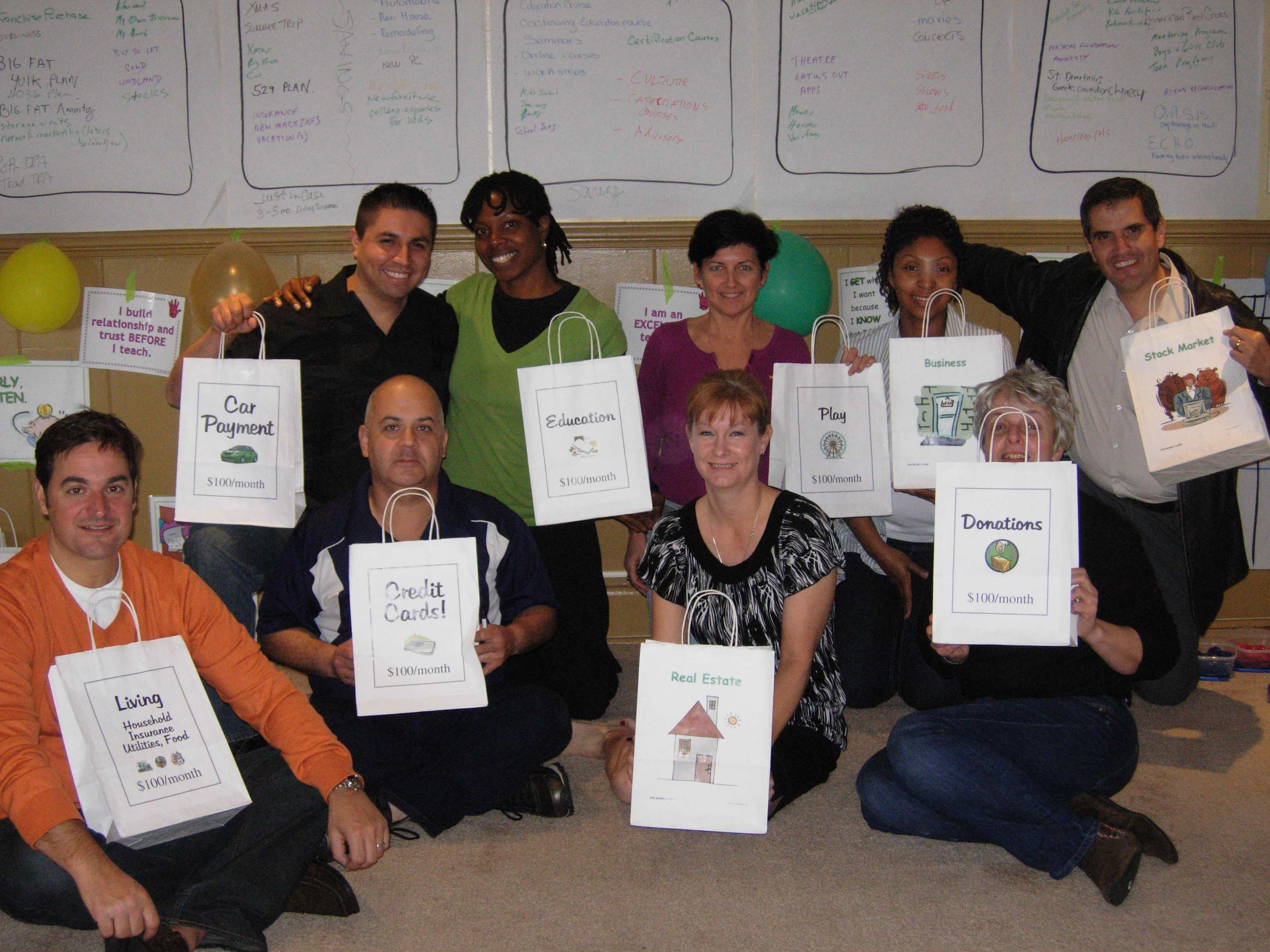 Money Game/Camp Millionaire Coaches February 2011