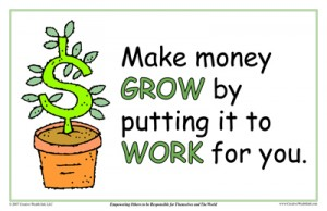 Make Money Grow By Putting It To Work For You